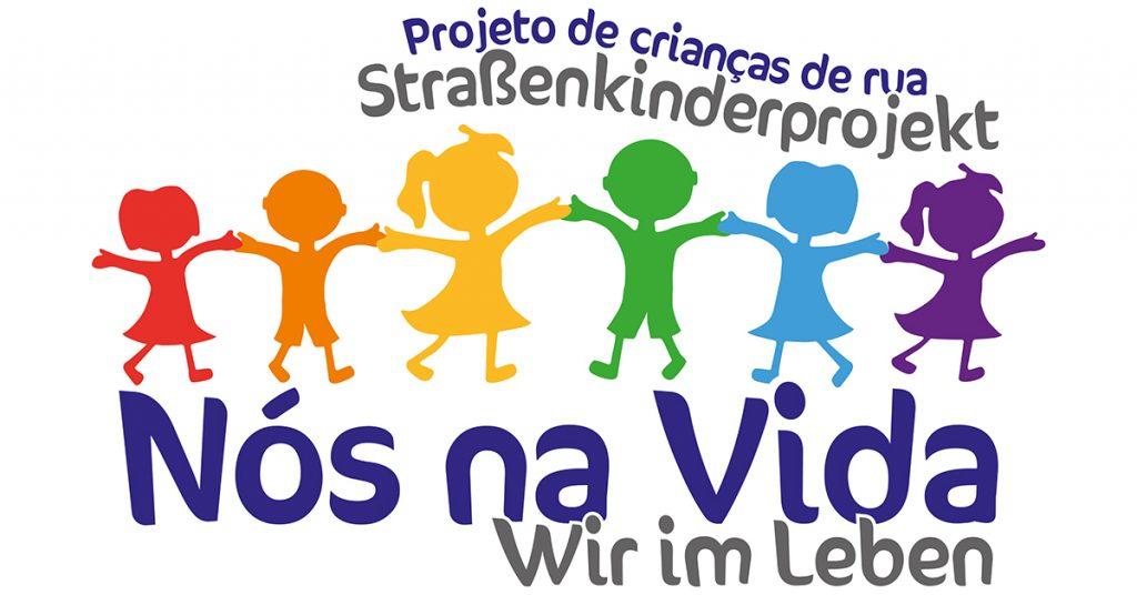 Nos na Vida - Wir im Leben - Logo der gemeinnützigen Organisation von Anna Elisabeht Hahne